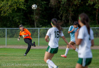 2089 Girls Varsity Soccer v Chief-Sealth 092214
