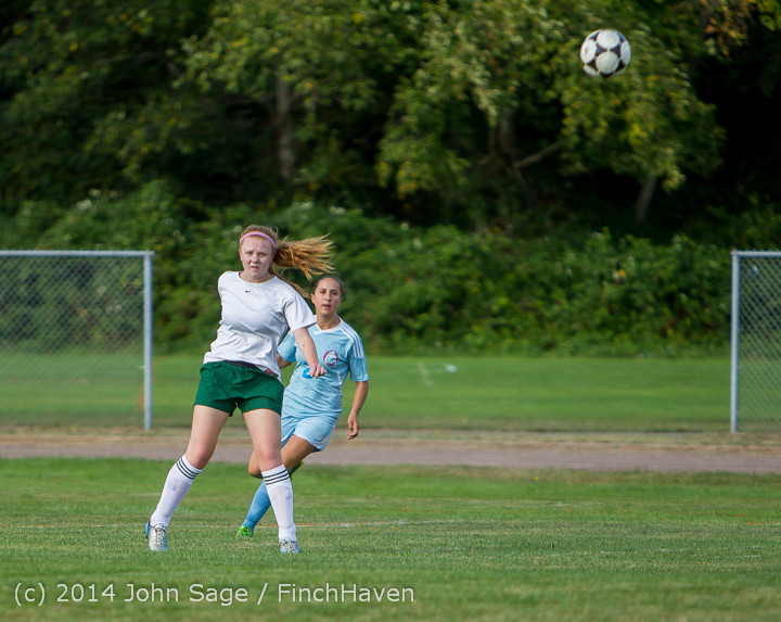 2107 Girls Varsity Soccer v Chief-Sealth 092214