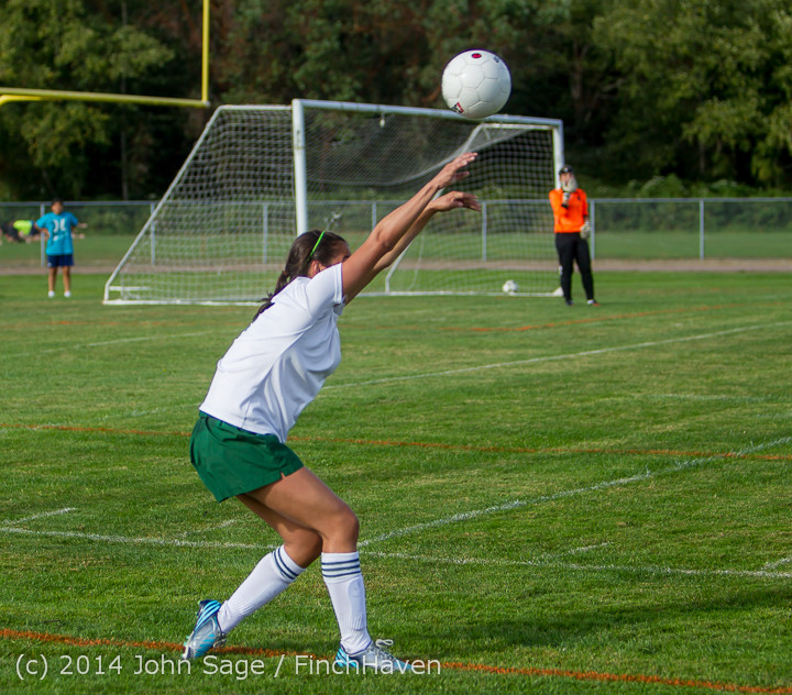 2126 Girls Varsity Soccer v Chief-Sealth 092214