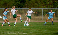 2139 Girls Varsity Soccer v Chief-Sealth 092214