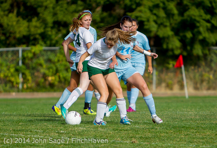 2150 Girls Varsity Soccer v Chief-Sealth 092214
