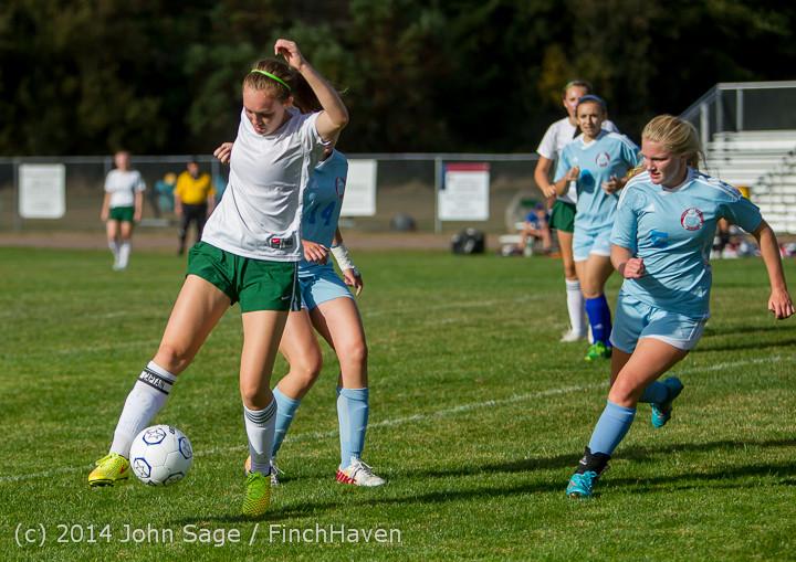 2192 Girls Varsity Soccer v Chief-Sealth 092214