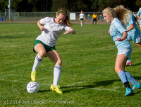 2202 Girls Varsity Soccer v Chief-Sealth 092214