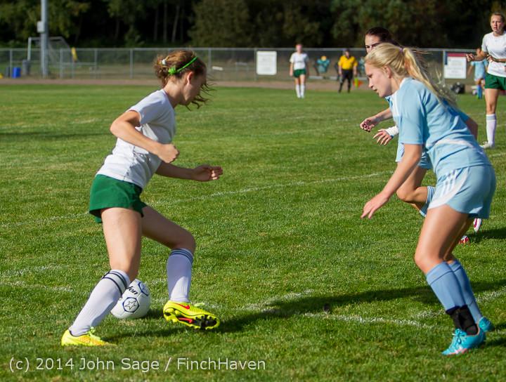 2204 Girls Varsity Soccer v Chief-Sealth 092214