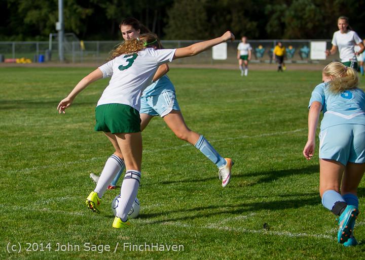 2206 Girls Varsity Soccer v Chief-Sealth 092214