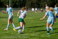 2209 Girls Varsity Soccer v Chief-Sealth 092214