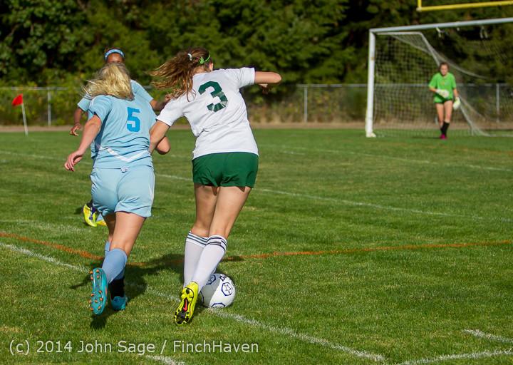 2222 Girls Varsity Soccer v Chief-Sealth 092214