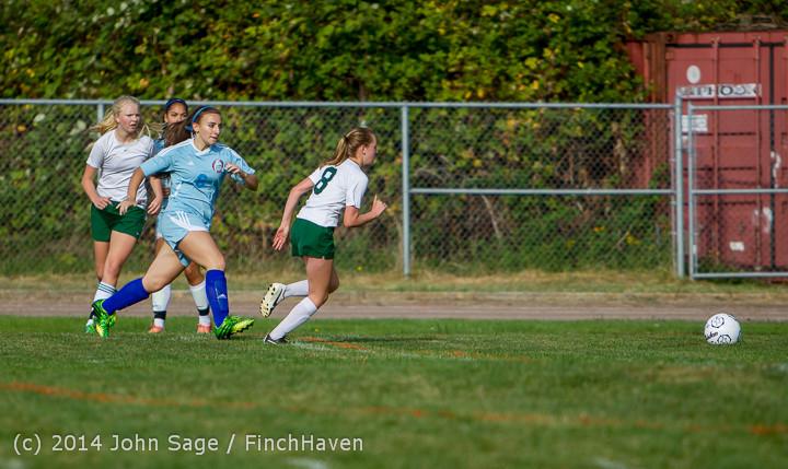 2253 Girls Varsity Soccer v Chief-Sealth 092214
