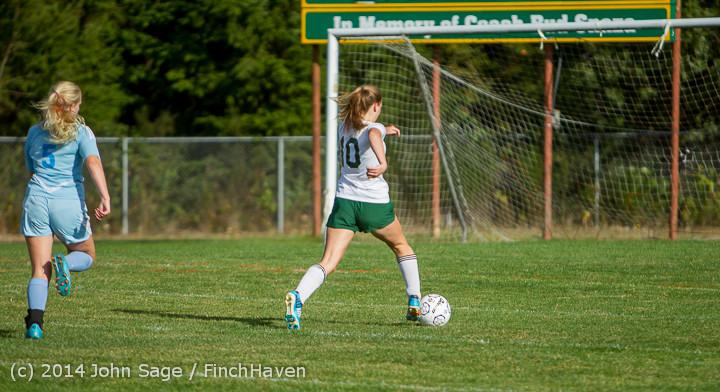 2282 Girls Varsity Soccer v Chief-Sealth 092214