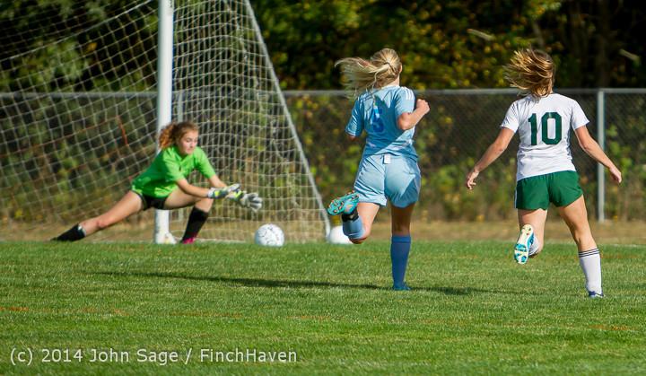 2301 Girls Varsity Soccer v Chief-Sealth 092214