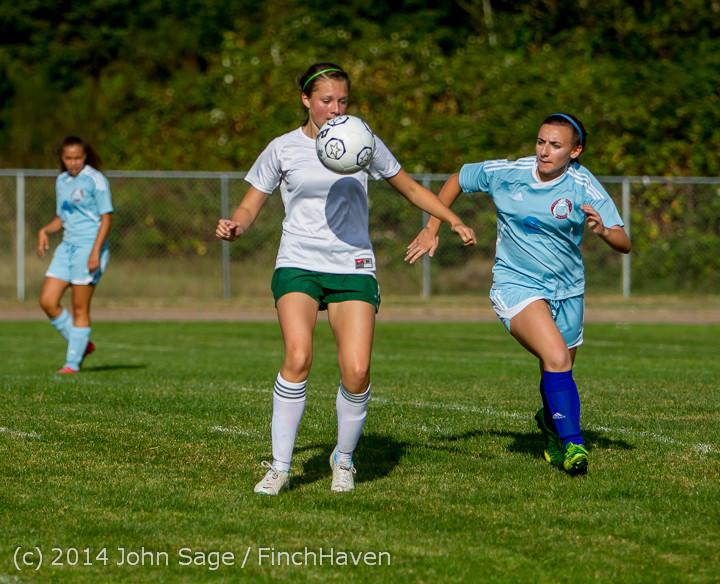 2311 Girls Varsity Soccer v Chief-Sealth 092214