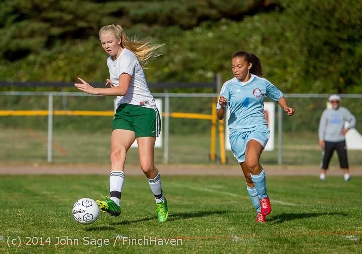 2335 Girls Varsity Soccer v Chief-Sealth 092214