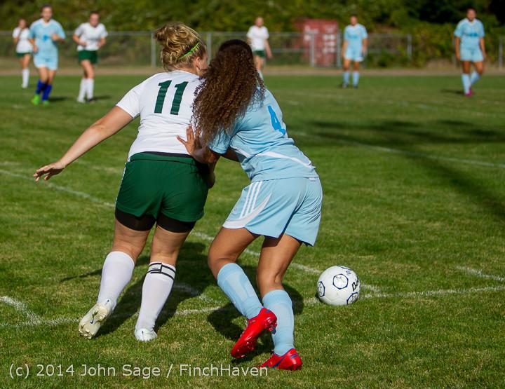 2351 Girls Varsity Soccer v Chief-Sealth 092214