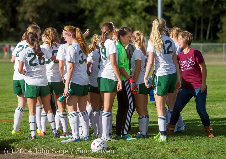 2358 Girls Varsity Soccer v Chief-Sealth 092214