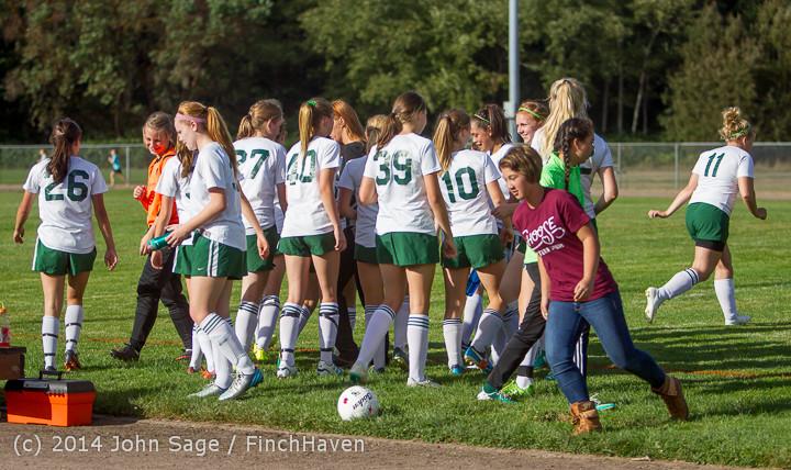 2369 Girls Varsity Soccer v Chief-Sealth 092214