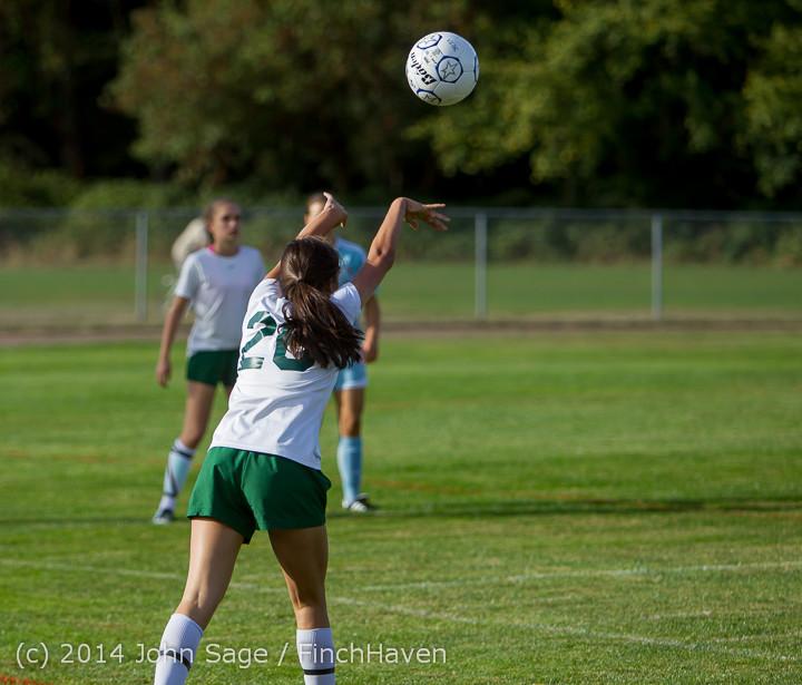 2373 Girls Varsity Soccer v Chief-Sealth 092214