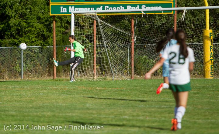 2392 Girls Varsity Soccer v Chief-Sealth 092214