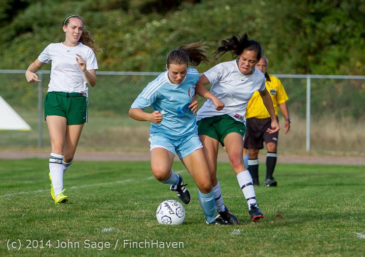 2410 Girls Varsity Soccer v Chief-Sealth 092214