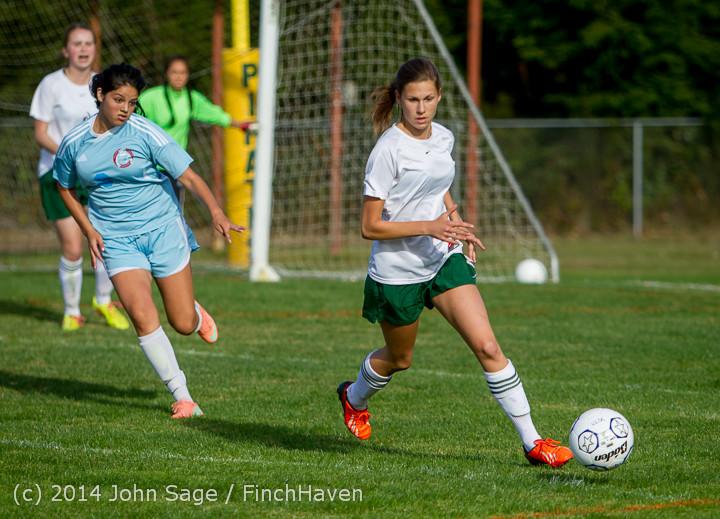 2429 Girls Varsity Soccer v Chief-Sealth 092214