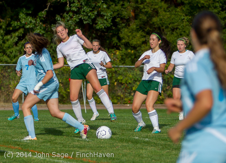 2443 Girls Varsity Soccer v Chief-Sealth 092214