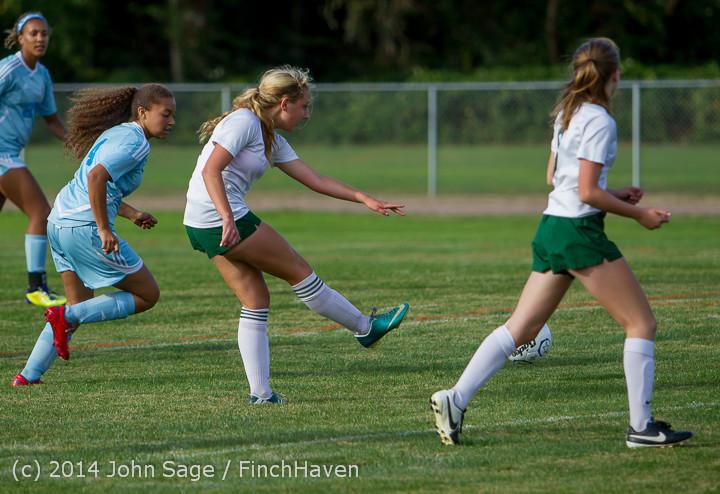 2460 Girls Varsity Soccer v Chief-Sealth 092214