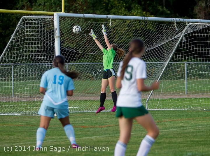 2532 Girls Varsity Soccer v Chief-Sealth 092214