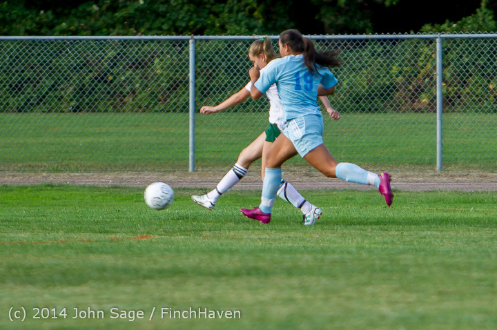 2553 Girls Varsity Soccer v Chief-Sealth 092214