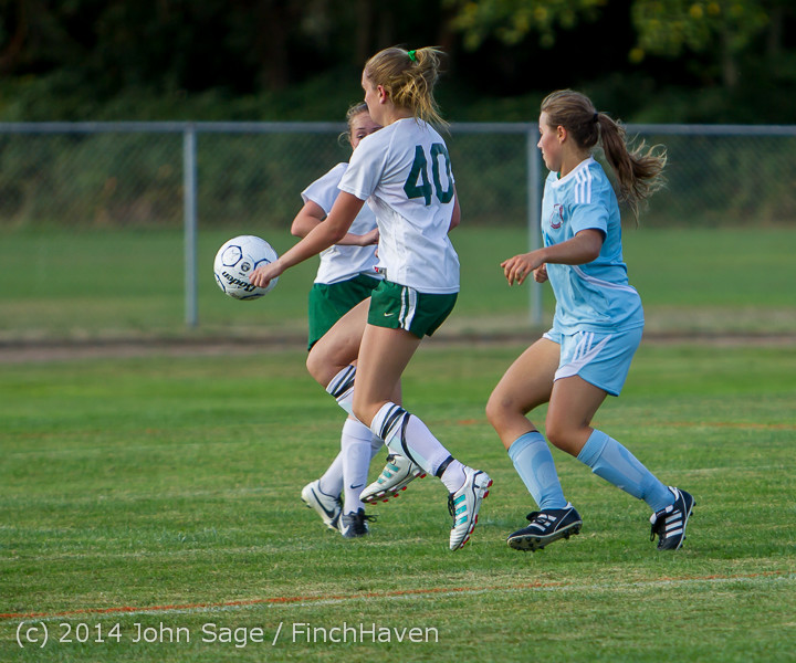 2569 Girls Varsity Soccer v Chief-Sealth 092214