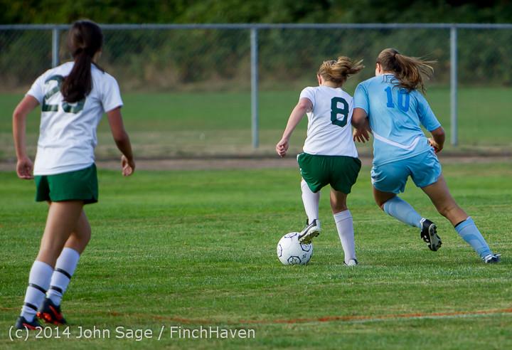 2572 Girls Varsity Soccer v Chief-Sealth 092214