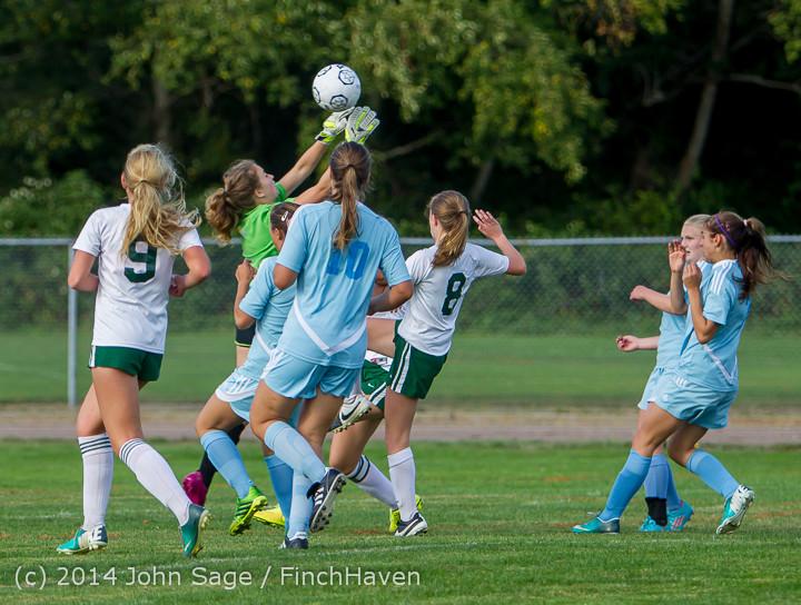 2626 Girls Varsity Soccer v Chief-Sealth 092214