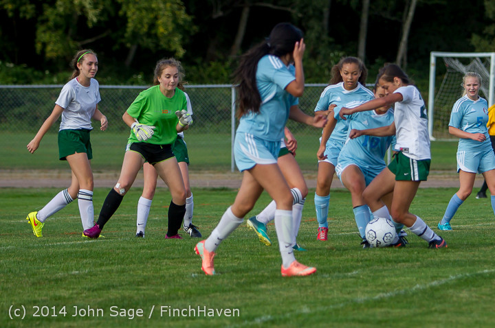 2640 Girls Varsity Soccer v Chief-Sealth 092214