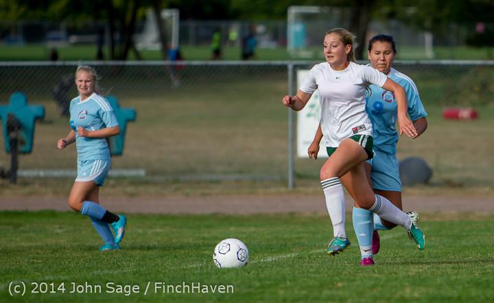 2672 Girls Varsity Soccer v Chief-Sealth 092214