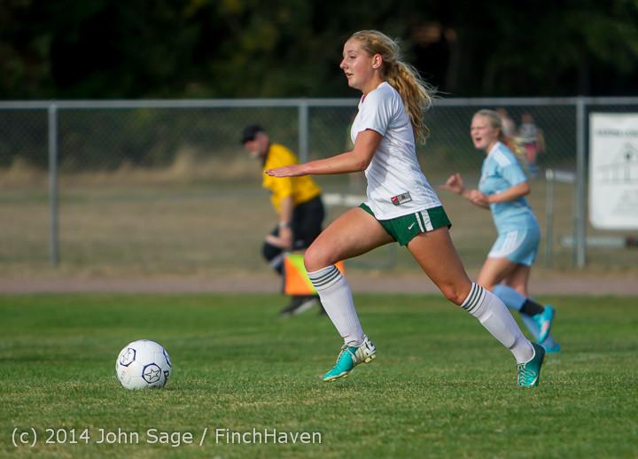 2678 Girls Varsity Soccer v Chief-Sealth 092214