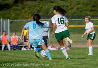2705 Girls Varsity Soccer v Chief-Sealth 092214