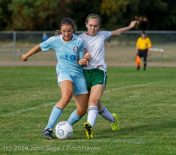 2709 Girls Varsity Soccer v Chief-Sealth 092214