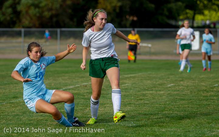 2713 Girls Varsity Soccer v Chief-Sealth 092214