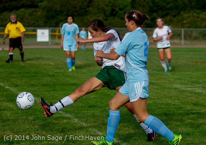 2715 Girls Varsity Soccer v Chief-Sealth 092214