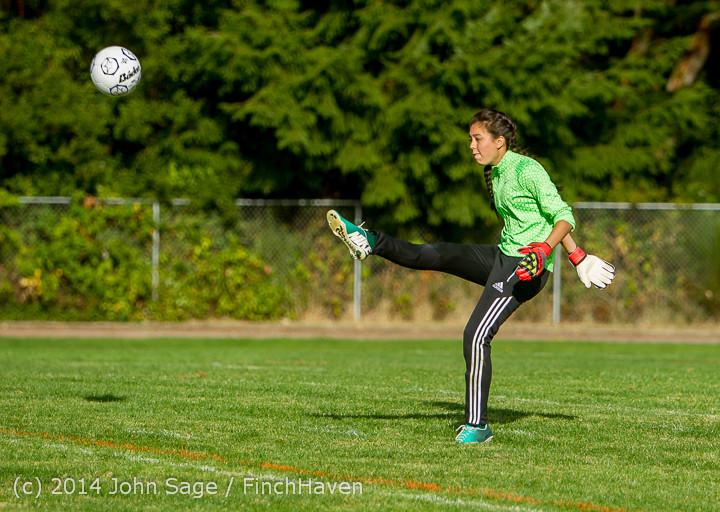 2773 Girls Varsity Soccer v Chief-Sealth 092214