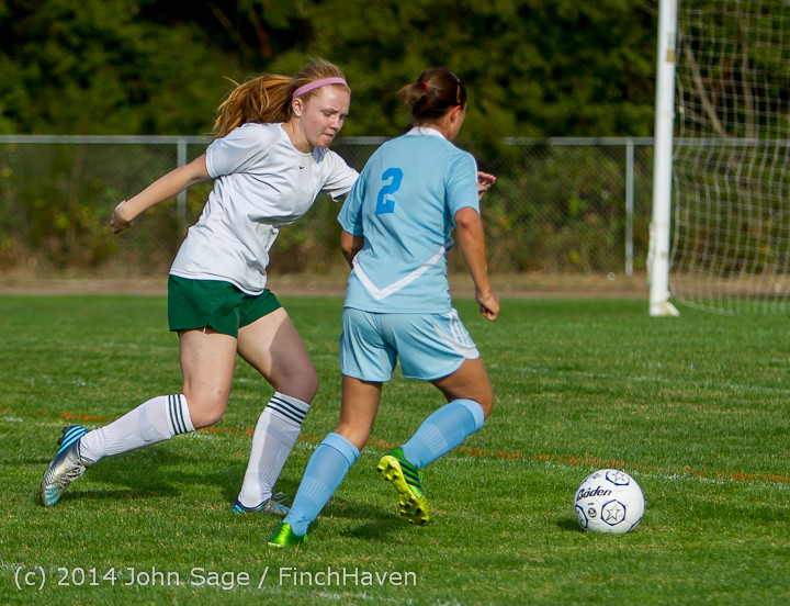 2806 Girls Varsity Soccer v Chief-Sealth 092214