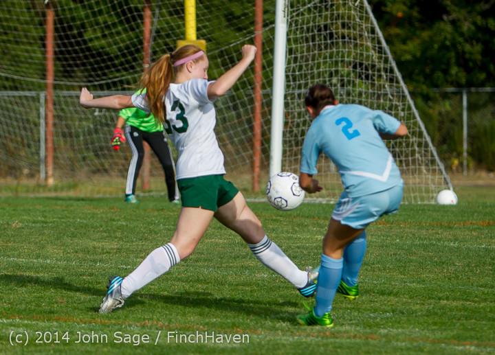 2809 Girls Varsity Soccer v Chief-Sealth 092214