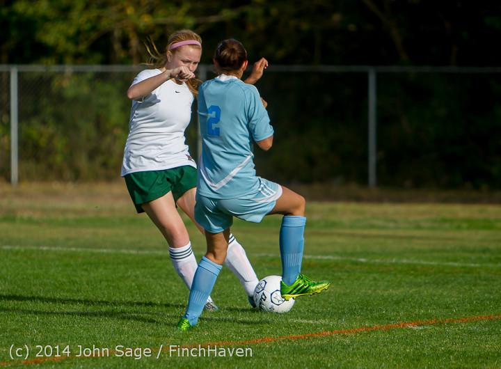 2814 Girls Varsity Soccer v Chief-Sealth 092214