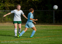 2818 Girls Varsity Soccer v Chief-Sealth 092214