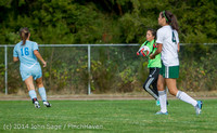 2875 Girls Varsity Soccer v Chief-Sealth 092214