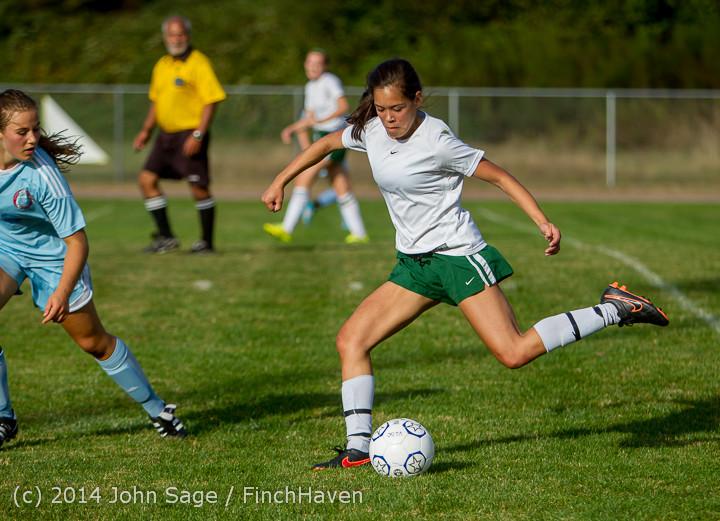 2898 Girls Varsity Soccer v Chief-Sealth 092214