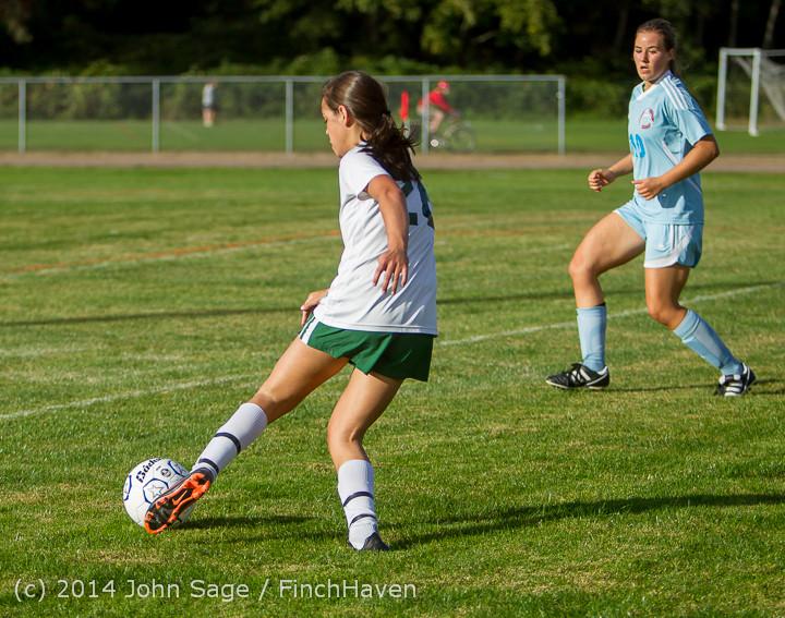 2989 Girls Varsity Soccer v Chief-Sealth 092214