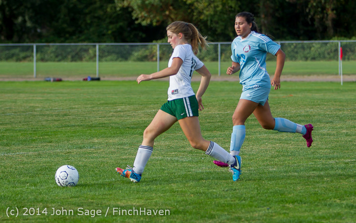 3030 Girls Varsity Soccer v Chief-Sealth 092214