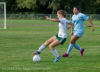 3035 Girls Varsity Soccer v Chief-Sealth 092214