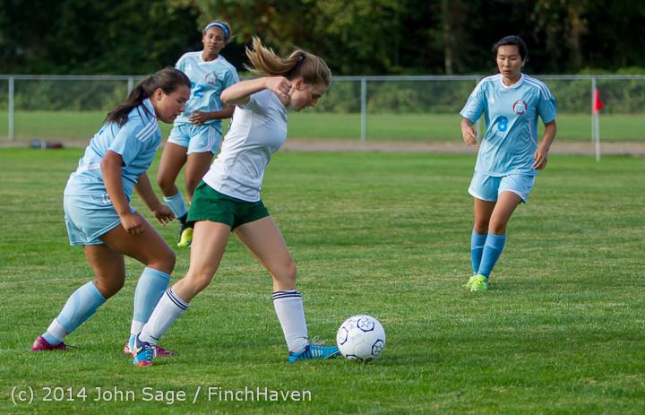 3040 Girls Varsity Soccer v Chief-Sealth 092214