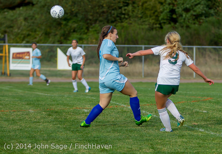 3044 Girls Varsity Soccer v Chief-Sealth 092214