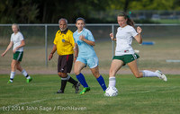 3060 Girls Varsity Soccer v Chief-Sealth 092214